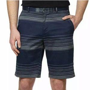Calvin Klein Cadet Lifestyle Navy Striped Shorts